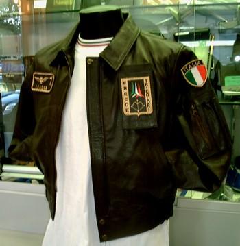 Giubbotto pelle aeronautica militare italiana