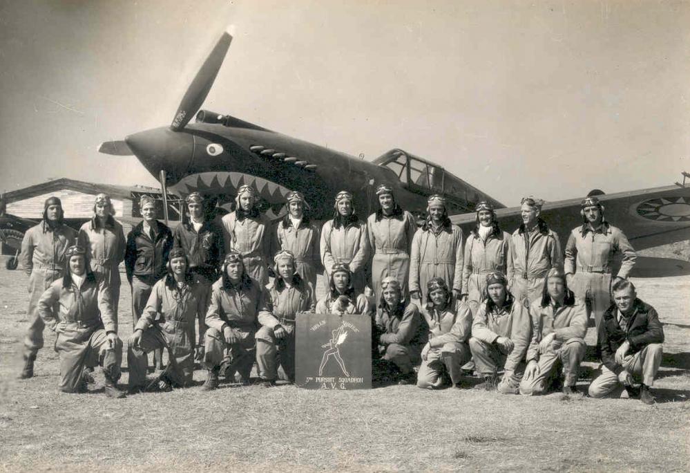 I giubbotti di volo piloti militari americani Tigri Volanti giubbotto pilota militare aviatore aviatori giacca giacche pelle 011337