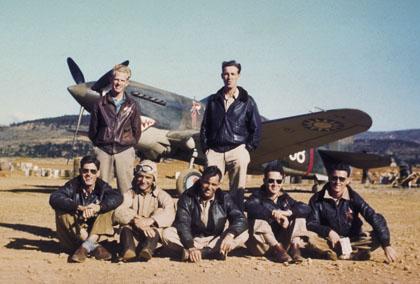 I giubbotti di volo piloti militari americani Tigri Volanti giubbotto pilota militare aviatore aviatori giacca giacche pelle 011352