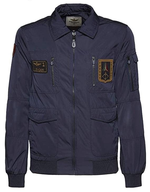 Il giubbotto di volo aviatore Frecce Tricolori pilota Aeronautica Militare Italiana piloti aviatori aviazione giacca giacche